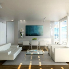 Modern Living With Lookout  Architectural Renderings By Dbox  Picture  3