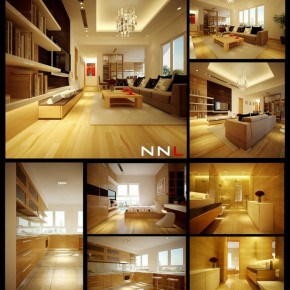 Neutral Palette Home 665x737  Dream Home Interiors by Open Design  Pict  9