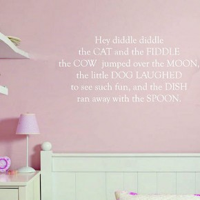 Nursery Rhyme Wall Stickers  Kids Wall Stickers  Picture  7