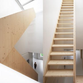 Oak Stairways  Home by i29 Architects  Pict  9