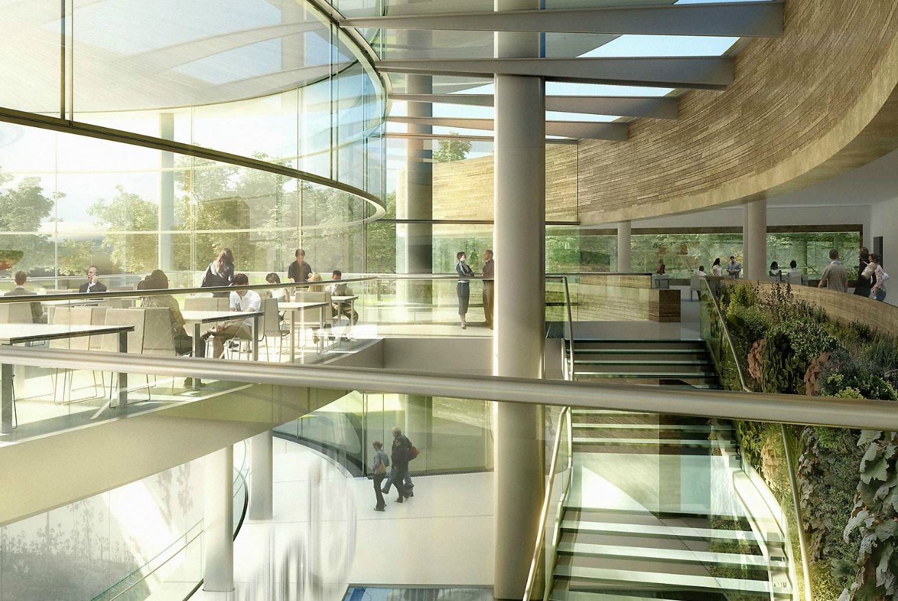 Office Garden Architectural Renderings By Dbox Pict 13