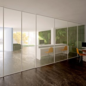 Simple Modern Offices of Stelmat Teleinformatica