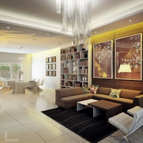 Open Plan Living Dining  Dream Home Interiors by Open Design  Picture  19