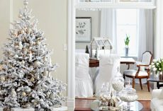 20 White Christmas Living Room Ideas