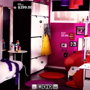 Pink Dorm Room  Dorm Room Inspirations from IKEA  Pict  6