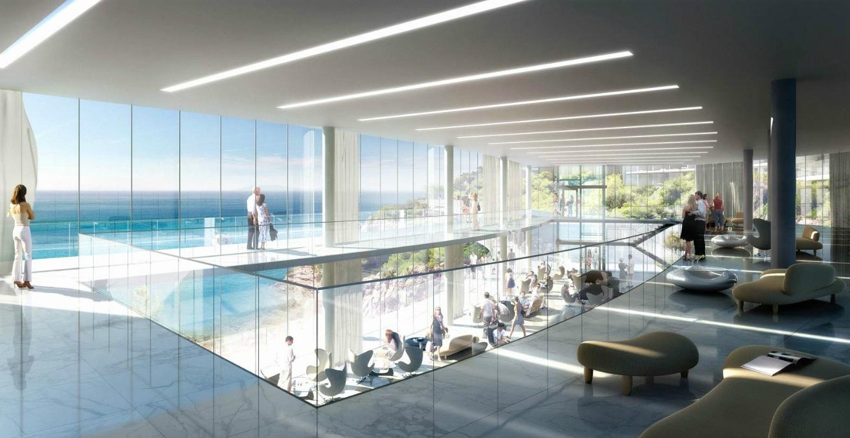 Public building interior architectural renderings by dbox for Interior design architecture