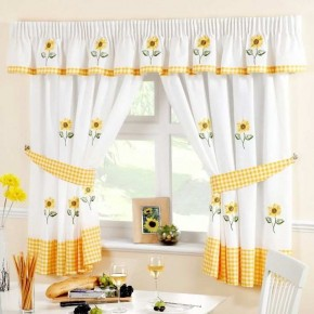 Sheer Curtains likewise How To Drape A Scarf Valance besides 235946467956513717 furthermore 20 Summer Curtain Ideas together with Beautiful Yarn Patterned Dark Gold Sheer Curtains P 597. on unique white curtain sheers