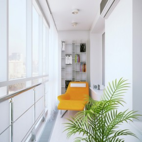 Reading Nook  Small Apartment Design in St.Petersburgh  Picture  4