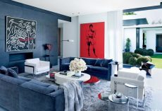 20 Red White and Blue Interior Design Ideas