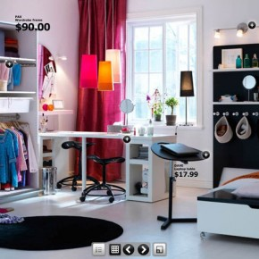 Room With Laptop Stand  Dorm Room Inspirations from IKEA  Picture  11