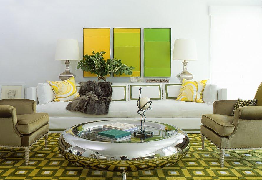 Round Silver Donut Coffee Table Interior Design Center Inspiration