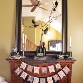 20 Halloween Candle Holder Mantel Ideas Interior Design Center Inspiration