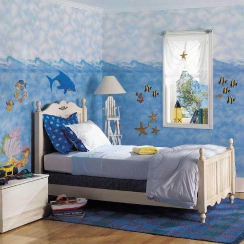 sea themed bedroom idea for