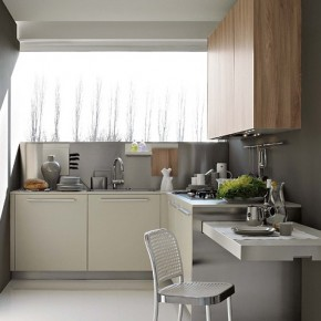 Small And Practical Kitchen  Modern Kitchens From Elmar Cucine  Image  19
