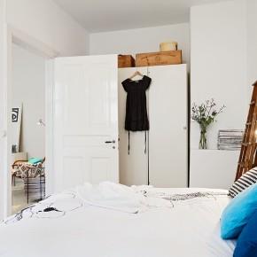 Small Bedroom White  A Scandinavian Beauty Photo  10