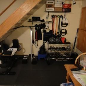 Small home gym ideas car interior design - Home gym design small space ...