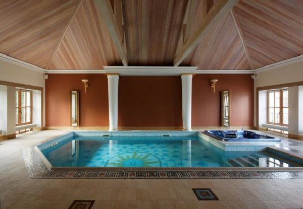 Interior design center inspiration for Mansion plans with indoor pool