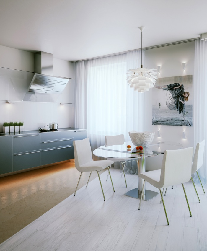 Amazing Small Apartment Design in St.Petersburgh