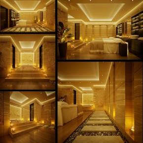 Spa Indoor Zen Garden 665x679  Dream Home Interiors by Open Design  Pict  2
