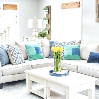 20 Colorful Spring Living Room Ideas