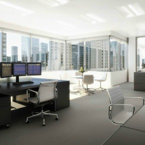 Stock Broker Workspace  Architectural Renderings By Dbox Photo  23