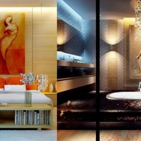 Sunken Bath 665x391  Dream Home Interiors by Open Design  Wallpaper 8