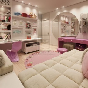 Super Girly Room  Kids Room Inspiration Photo  3