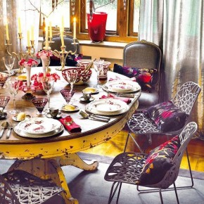 Table Decor Vintage 18 Christmas Dinner Table Decoration Ideas Pict 17