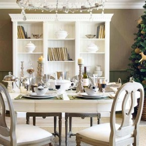 Table Decorations Christmas 18 Christmas Dinner Table Decoration Ideas Image 4
