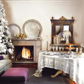 Decor 18 Christmas Dinner Table Decoration Ideas Pict 11  Home Design