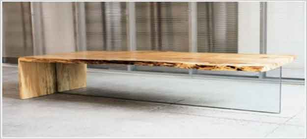 Special Coffee Table Of Rustic Wood