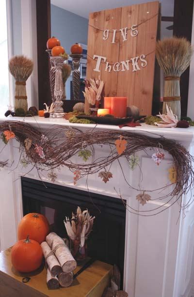 20 Thanksgiving Fall Fireplace Ideas