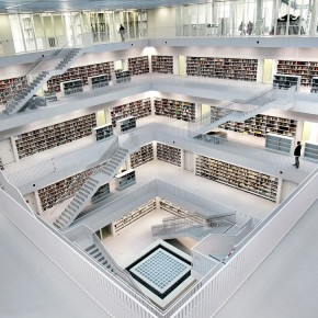 The Overview  The New Stuttgart City Library  Wallpaper 6