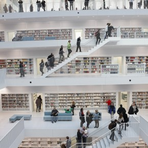 The Stairs  The New Stuttgart City Library  Pict  10