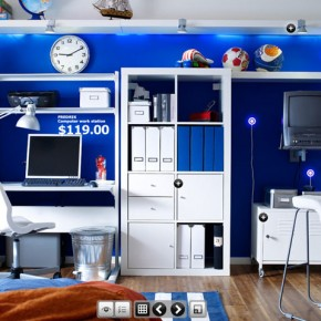 Room with study table dorm room inspirations from ikea for 12 x 13 room