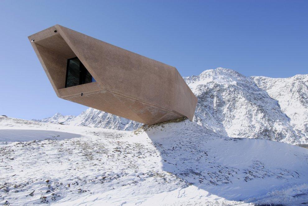 Werner Tscholl : The Timmelsjoch Experience Pass Museum