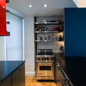 Tiny Kitchen Design  Super Small Apartment Design in Manhattan Photo  12