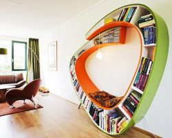20 Bookshelf Designs for the Home