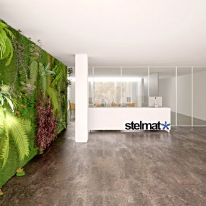 Vertical Wall Garden  Beautiful Offices of Stelmat Teleinformatica  Wallpaper 2
