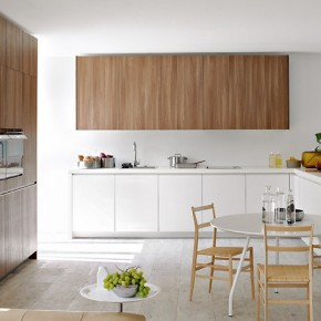 Warm Brown With White  Modern Kitchens From Elmar Cucine  Wallpaper 17