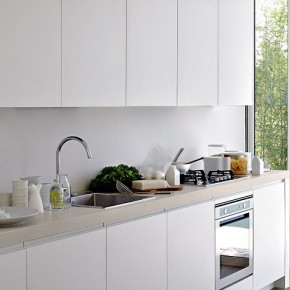 White Kitchen With Great Natural Lighting  Modern Kitchens From Elmar Cucine  Wallpaper 12