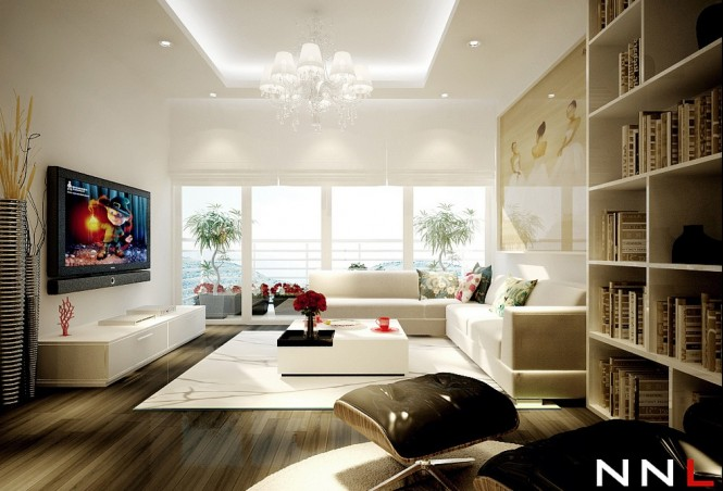 White living room 665 452 dream home interiors by open Dream room design