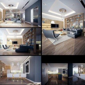 Wood Grey Lounge 665x515  Dream Home Interiors by Open Design  Picture  11