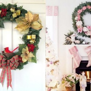 Wreaths Christmas Door 34 Great Christmas Wreath Decorating Ideas Picture 9