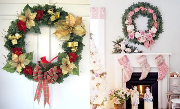 Special Christmas Wreath Decorating Ideas Wreaths Christmas Door ...