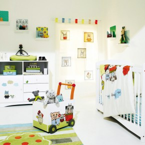11 Fantastic Baby Nursery Design Ideas by Vertbaudet White Wall