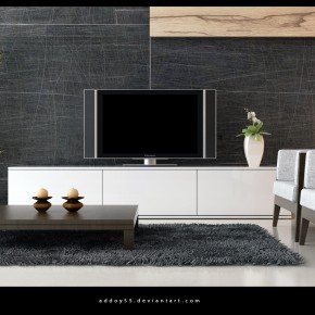 2 Living Room By Addoy5  10 Rooms That Are Designed Around Televisions Photo  11