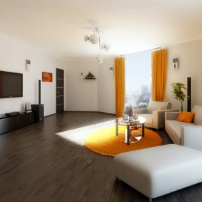 5 Modern Living Room By Flavius C  10 Rooms That Are Designed Around Televisions  Wallpaper 7