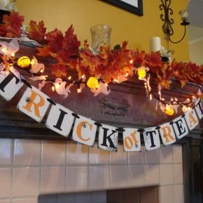 50 Awesome Halloween Decorating Ideas Fireplace Leaf Decor