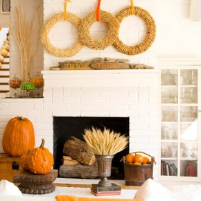 50 Awesome Halloween Decorating Ideas Floral Fresh Fireplace Pumpkins